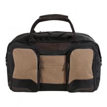 Cумка дорожная QUER Q25 коричневая кожа+текстиль 882200-403