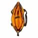 сумка через плечо QUER Q18 черная кожа+текстиль 882600-199