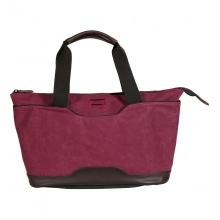 сумка через плечо QUER Q18 красная кожа+текстиль 882600-788