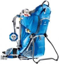 Детская переноска Kid Comfort II сине-голубая 36514-3033