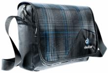 Сумка через плечо Deuter Аttend голубая клетка 85043-7309