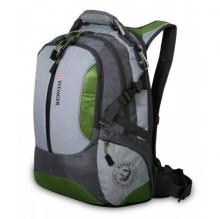 Рюкзак Wenger, зелёный/серый, полиэстер 1200D, 36х17х50 см, 30 л 15914415