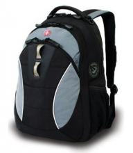 Рюкзак Wenger, черный/серый, полиэстер, 32х15х46 см, 22 л 16062415
