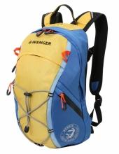 Рюкзак Wenger, жёлтый/синий, полиэстер, 24x15x39 см, 14 л 3053347402