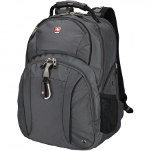 Рюкзак Wenger, серый/серебристый, полиэстер 900D/М2 добби, 34x16x48 см, 26 л 3253424408