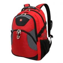 Рюкзак Wenger красный/серый/чёрный, полиэстер, 34х17х47, 26 л 3259112410