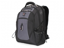 Рюкзак Wenger, чёрный/серый, полиэстер 900D/420D/М2 добби, 35x23x48 см, 39 л 6677204410