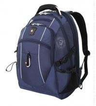 Рюкзак Wenger, синий/серебристый, полиэстер 900D/М2 добби, 34x23x48 см, 38 л 6677303408