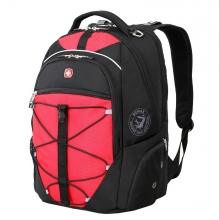 Рюкзак Wenger, чёрный/красный, полиэстер 900D/М2 добби, 34x19x46 см, 30 л 6772201408