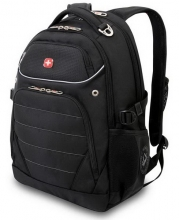 Рюкзак Wenger, черный, полиэстер 900D, 33x20x47 см, 32 л 3107202410