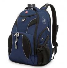 Рюкзак Wenger, синий/черный, полиэстер 900D/М2 добби, 34x17x47 см, 26 л 98673215
