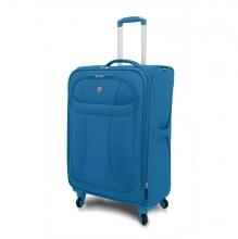 """Чемодан Wenger """"NEO LITE Spinner"""", синий, полиэстер, 48х27x74 см, 96 л 72083329"""