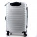 Чемодан Wenger Fribourg, серебристый, АБС-пластик, 38x28x60 см, 64 л SW32300467