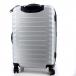 Чемодан Wenger Fribourg, серебристый, АБС-пластик, 46x30x70 см, 97 л SW32300477