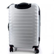 Чемодан Wenger Fribourg, серебристый, АБС-пластик, 33x23x47 см, 35 л SW32300452