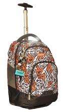 Рюкзак на колесах Modan Explore Pazzle orange