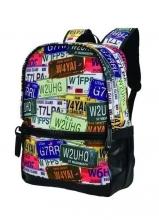Рюкзак молодежный BISTAR Plates-30180