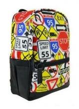 Рюкзак молодежный BISTAR Road Signs-30181