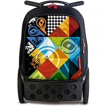 Рюкзак на колесах Nikidom Roller Logomania 9014