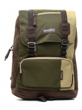 Рюкзак молодежный Grizzly песочный-хаки-коричневый RU-619-2