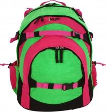 Рюкзак IKON Розово-зелёный 000200-01