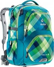 Рюкзак Deuter Ypsilon сине-зеленая клетка 80223-3216