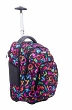 Рюкзак на колесах Modan Explore Pink and Purlpe plaid