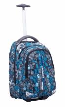 Рюкзак на колесах Modan Explore Letters With Blue