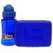 Комплект Mc Neil бутылка для напитков + Ланч бокс синий mccb