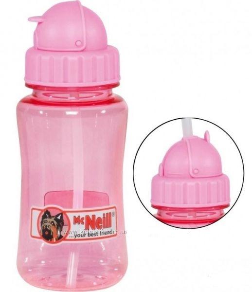 Комплект Mc Neil бутылка для напитков и Ланч бокс розовый