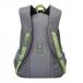 Рюкзак молодежный Grizzly RU-618-6 цвет серый - салатовый 37005
