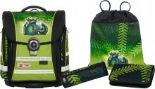 Школьный рюкзак McNeill  ERGO Light COMPACT-Flex 9607164000 Greentrac- Гринтрак 4 предмета