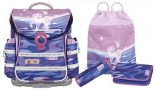 Школьный рюкзак McNeill  ERGO Light Plus 9606161000 Magic Horse- Единорог 4 предмета.