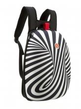 Рюкзак ZIPIT Shell Backpacks цвет черный/белый ZSHL-BWS