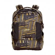 Рюкзак 4YOU Tight Fit Желто-серые полосы 117000-533