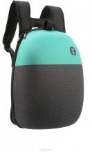 Рюкзак ZIPIT Shell Backpacks цвет черный/бирюза ZSHL-BG