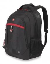 Рюкзак WENGER цвет черный/красный полиэстер 51155