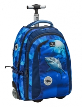 Рюкзак на колесах Belmil EASY GO LUMI SHARK 338-45/019