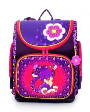 Ранец с мешком для обуви Hummingbird NK11 - Royal Purple Leopard