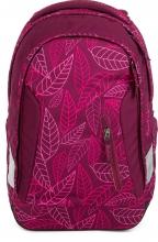 Рюкзак школьный ERGOBAG  Satch Sleek Purple Leaves с анатомической спинкой SAT-SLE-001-9H3