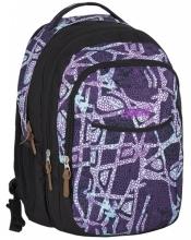 Рюкзак молодежный Explore Purple Bubbles (2 в 1) E1701-G54