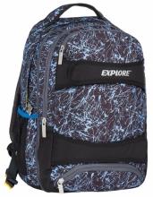 Рюкзак молодежный Explore Blue Splash (2 в 1) E1701-B5