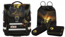 Школьный рюкзак McNeill  ERGO Light COMPACT-Flex Drake - Дракон 4 предмета 9613180000