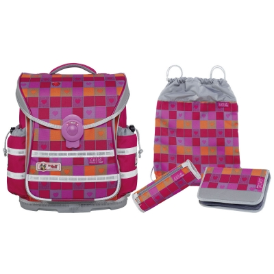 Школьный рюкзак McNeill  ERGO Light Plus 9621181000 Cutie - Милашка 4 предмета