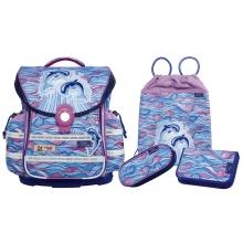 Школьный рюкзак McNeill  ERGO Light Плюс  9601151000 Flippi - Дельфины