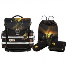 Школьный рюкзак McNeill  ERGO Light Plus  9627180000 Drake - Дракон 4 предмета