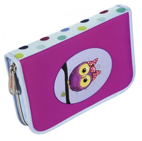Пенал Hama 139130 Sweet owl 1 отделение полиэстер
