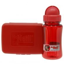 Комплект Mc Neil бутылка для напитков + Ланч бокс красный mccd