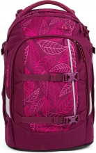 Рюкзак школьный ERGOBAG Satch Satch  Purple Leaves SAT-SIN-002-9H3