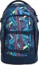 Рюкзак школьный ERGOBAG Satch Pack Splashy Lazer с анатомической спинкой SAT-SIN-001-9H6